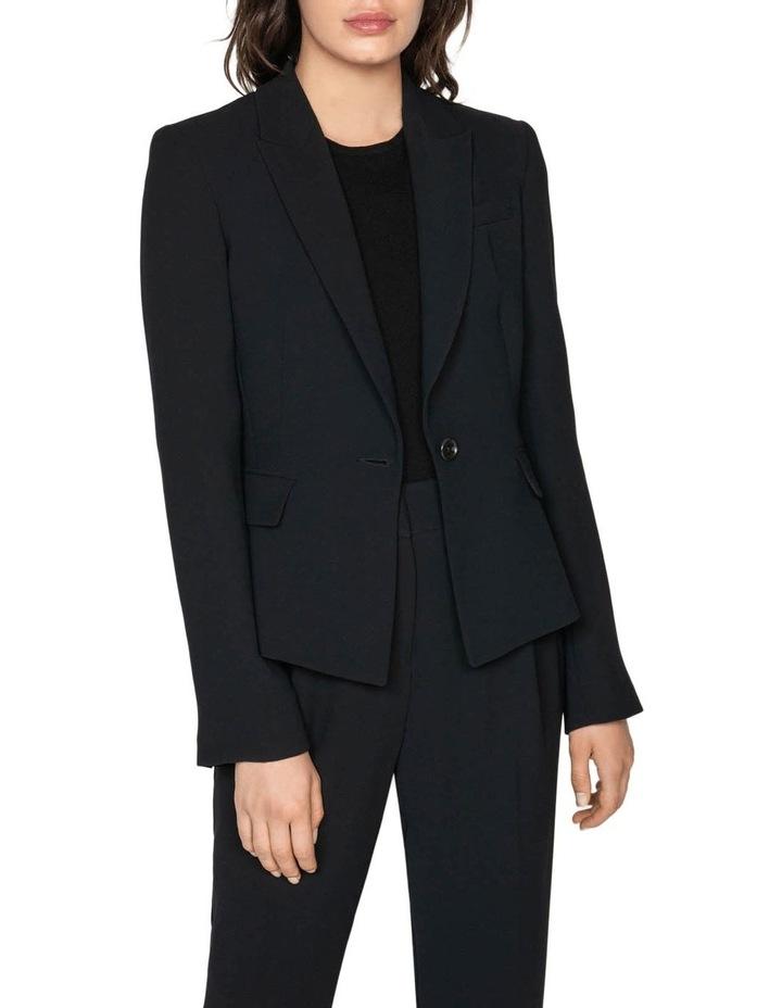 Crepe Tuxedo Collar Jacket image 2
