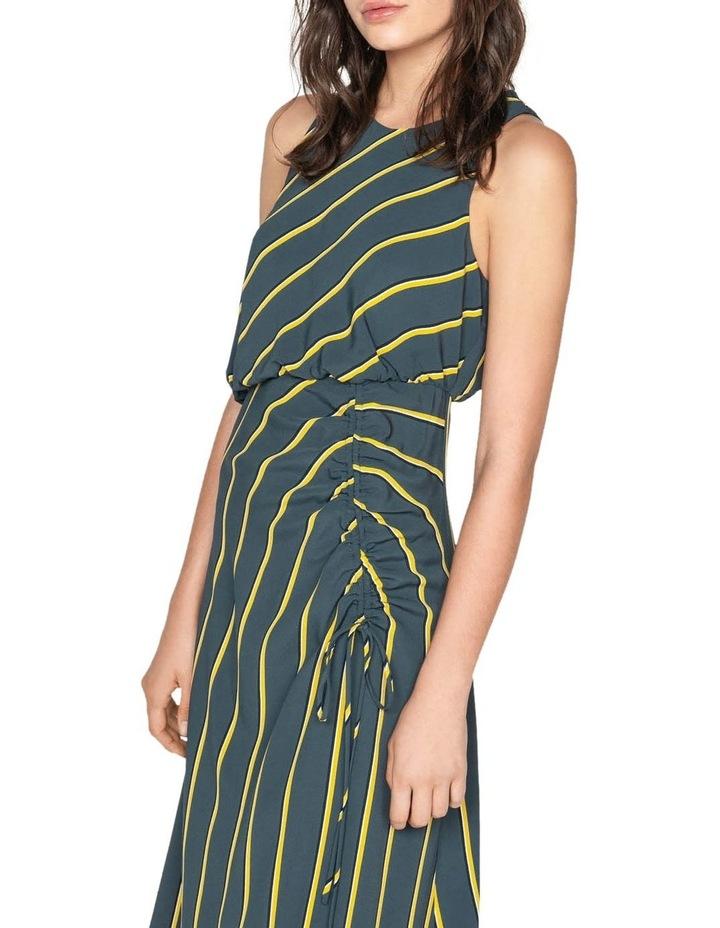 Bold Stripe Asymmetric Dress image 2