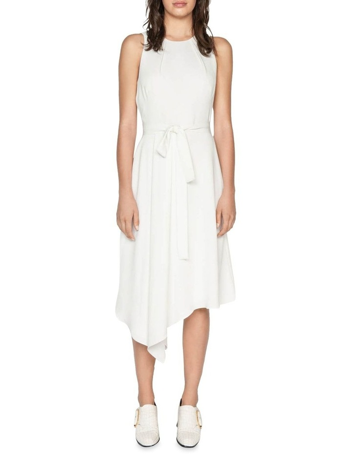 Asymmetric Hem Midi Dress image 1