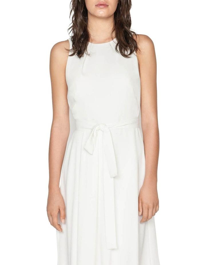 Asymmetric Hem Midi Dress image 2