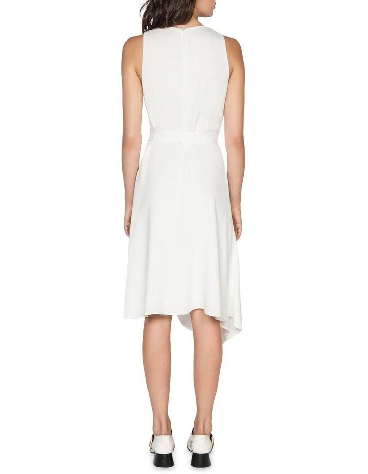 Asymmetric Hem Midi Dress image 3