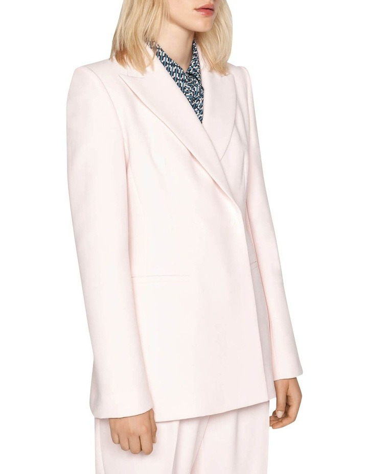 Pink Double Breasted Blazer image 2
