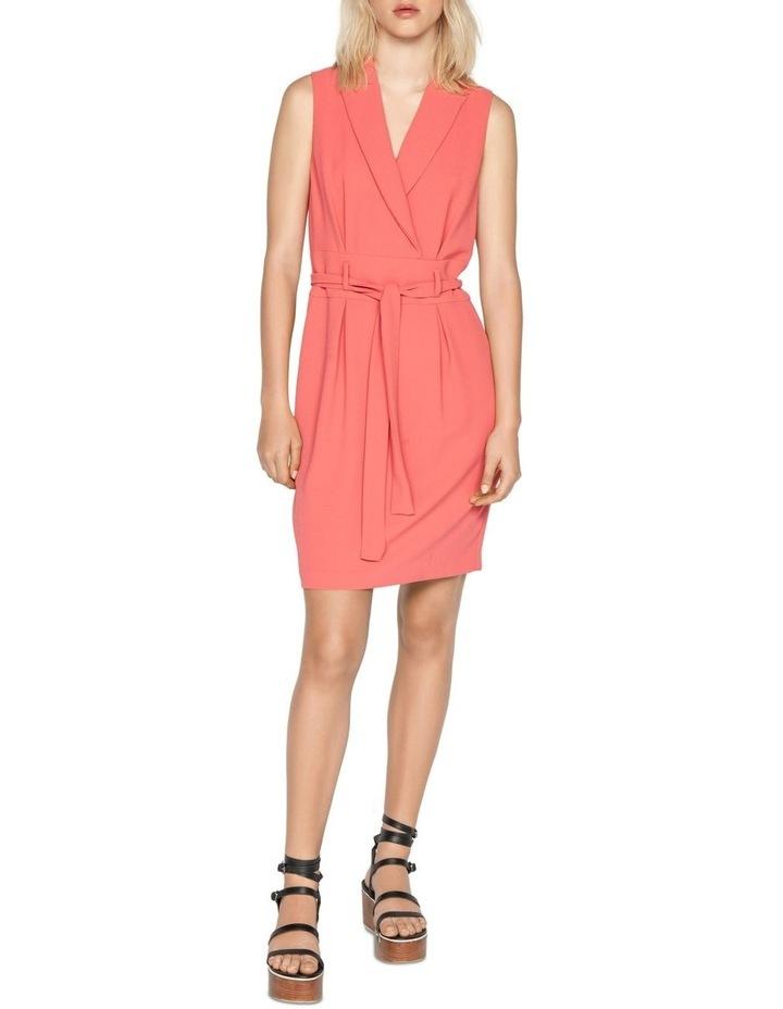 Crepe Wrap Front Dress image 1