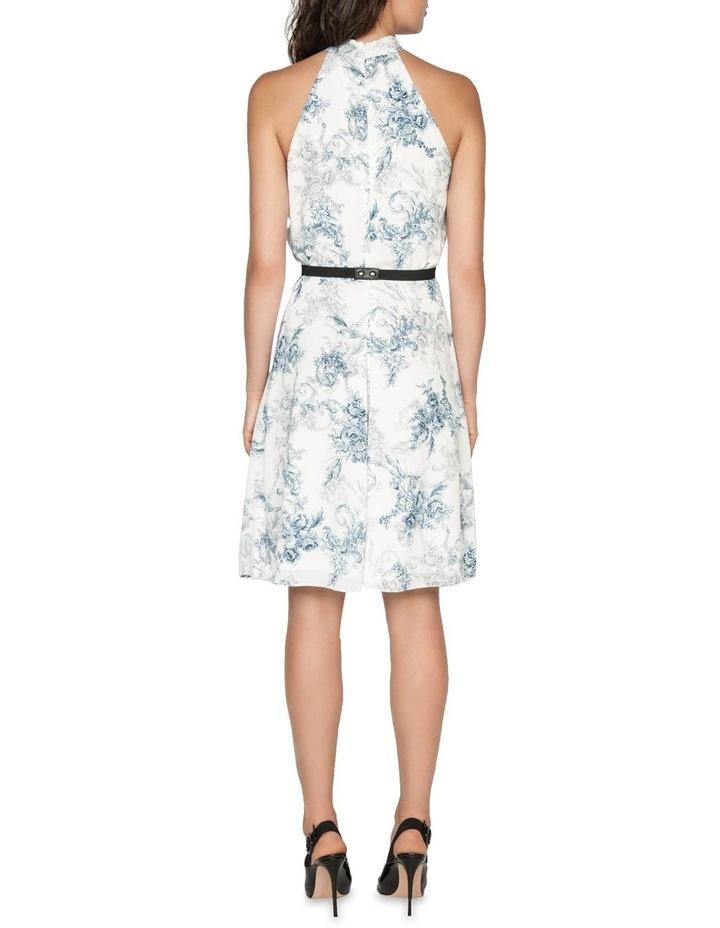 Toile Crinkle Georgette Dress image 3