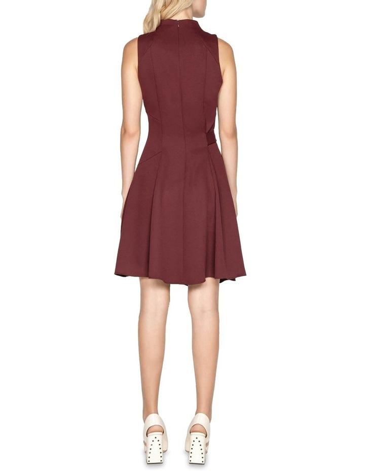 Belted Funnel Neck Dress image 3