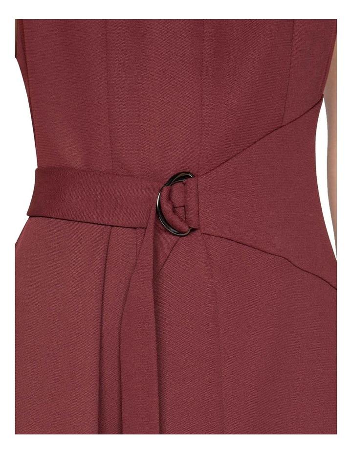 Belted Funnel Neck Dress image 4