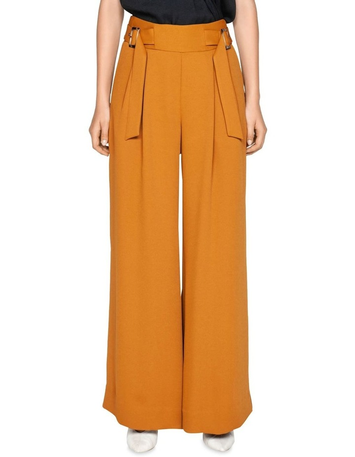 Belted Wide Leg Pant image 2
