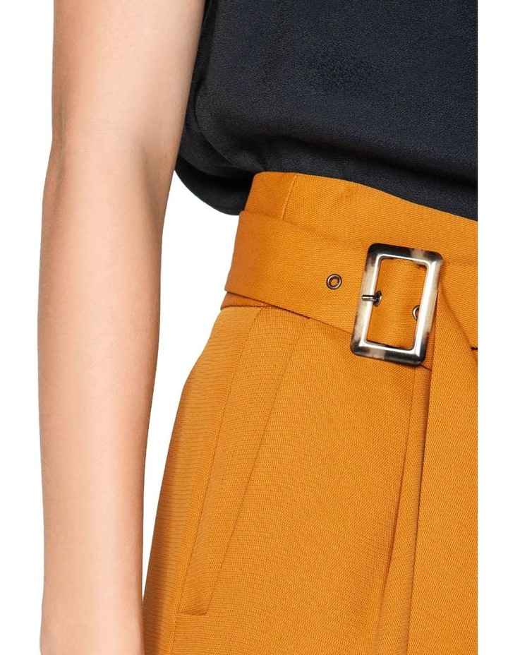 Belted Wide Leg Pant image 4