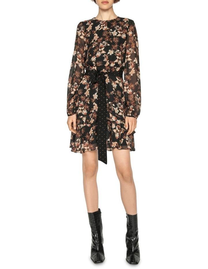 Mini Paisley Blouson Sleeve Dress image 1