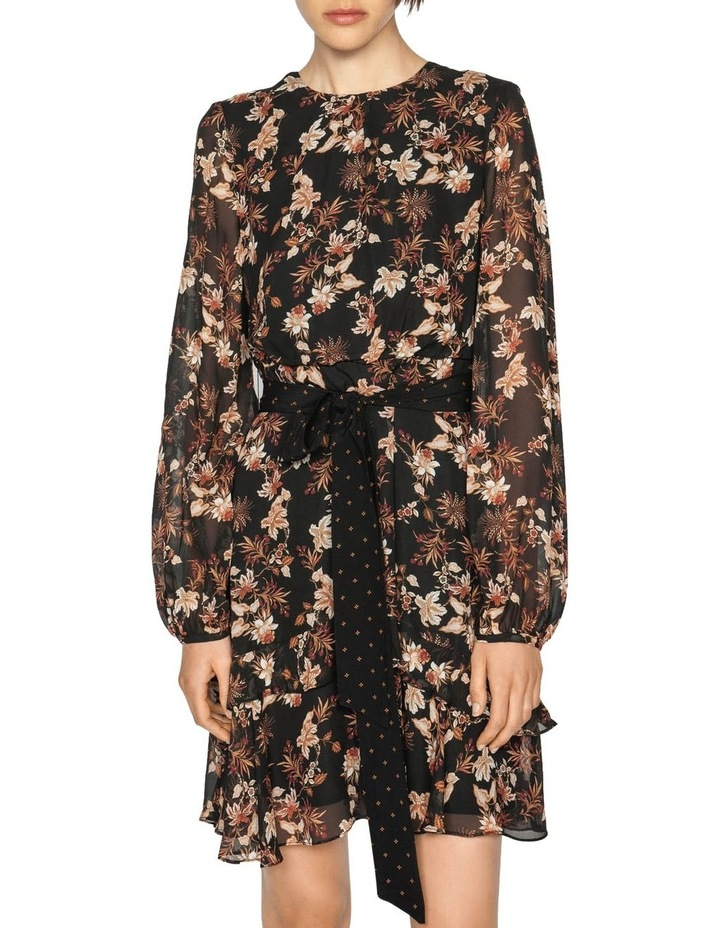 Mini Paisley Blouson Sleeve Dress image 2