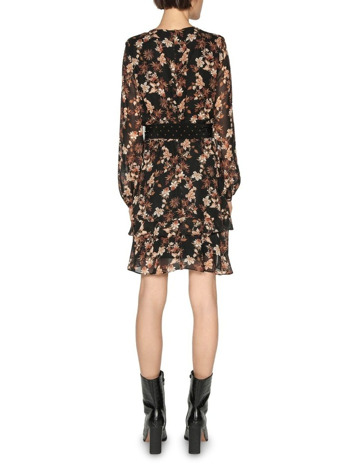 Mini Paisley Blouson Sleeve Dress image 3
