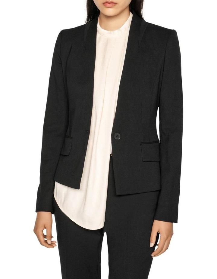 Raised Collar Suit Jacket image 1