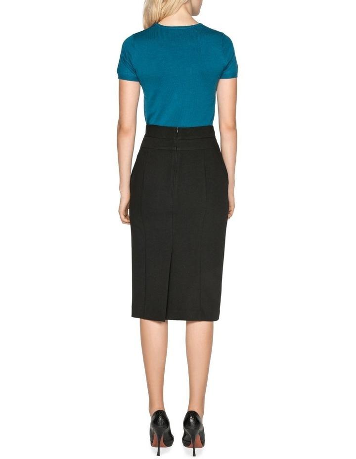 High Waisted Pencil Skirt image 3