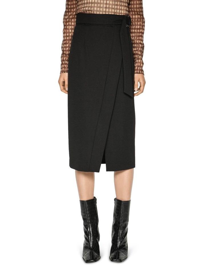 Belted Wrap Midi Skirt image 2