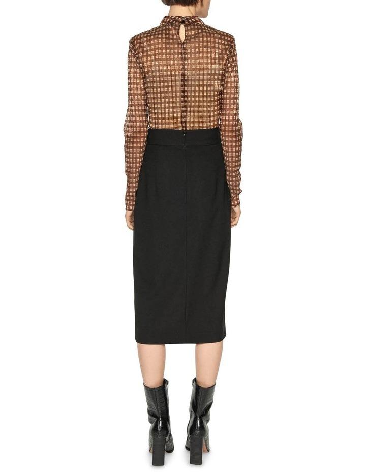 Belted Wrap Midi Skirt image 3