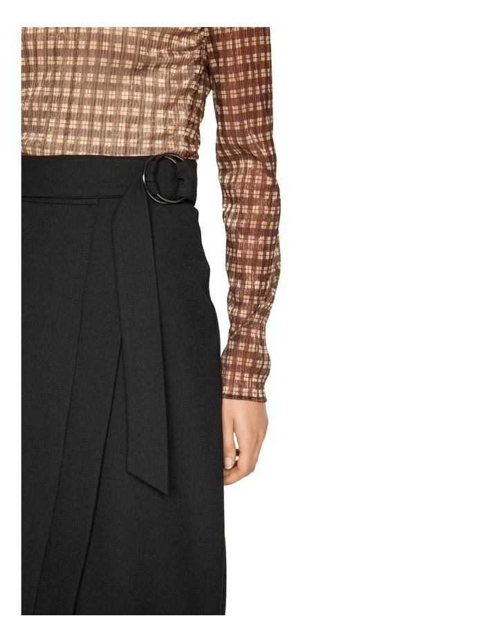 Belted Wrap Midi Skirt image 4