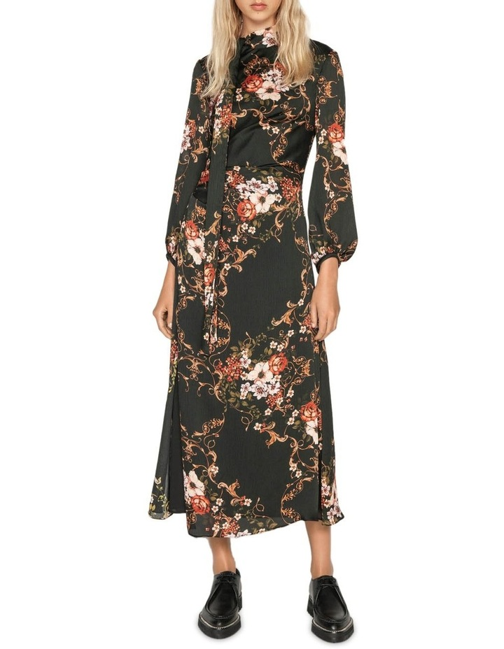 Filigree Rose Midi Dress image 1