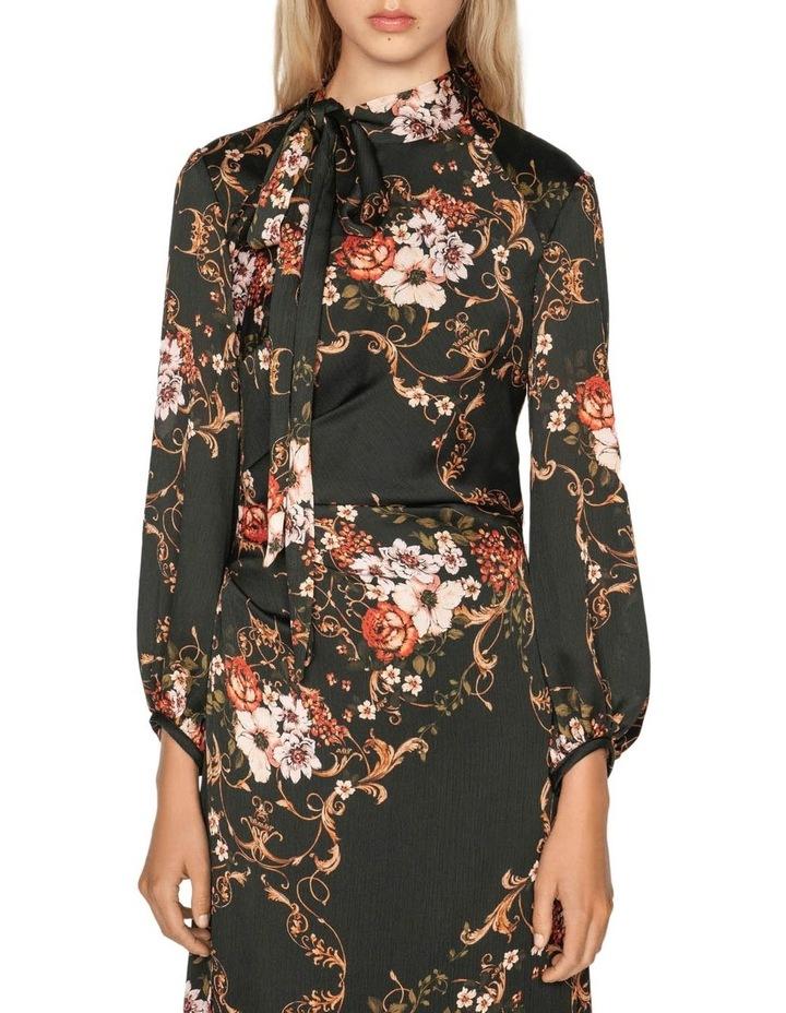 Filigree Rose Midi Dress image 2
