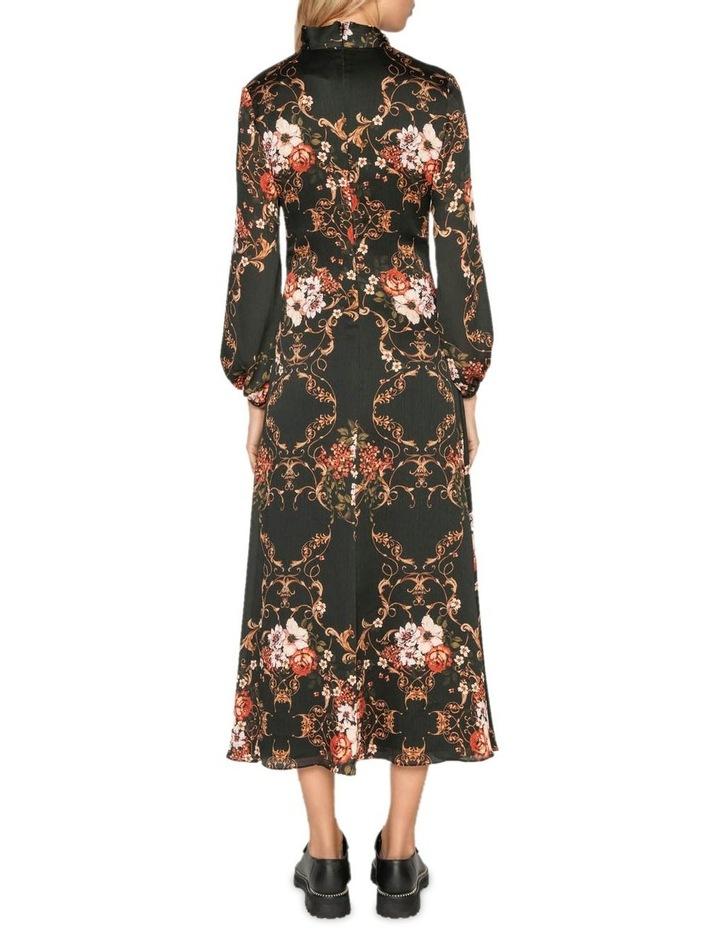 Filigree Rose Midi Dress image 3