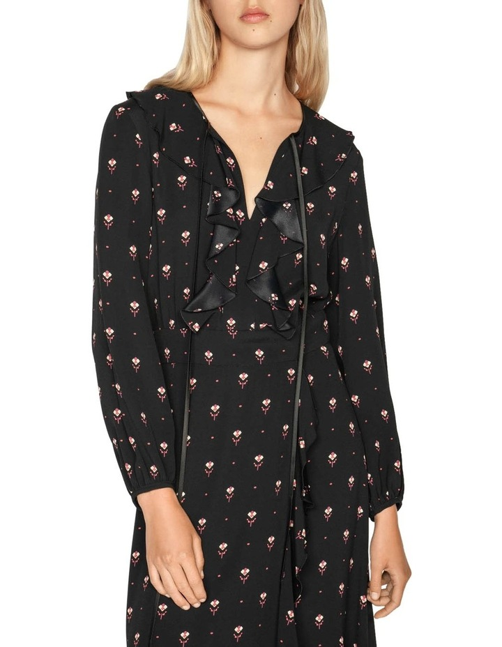 Geometric Motif Midi Dress image 2