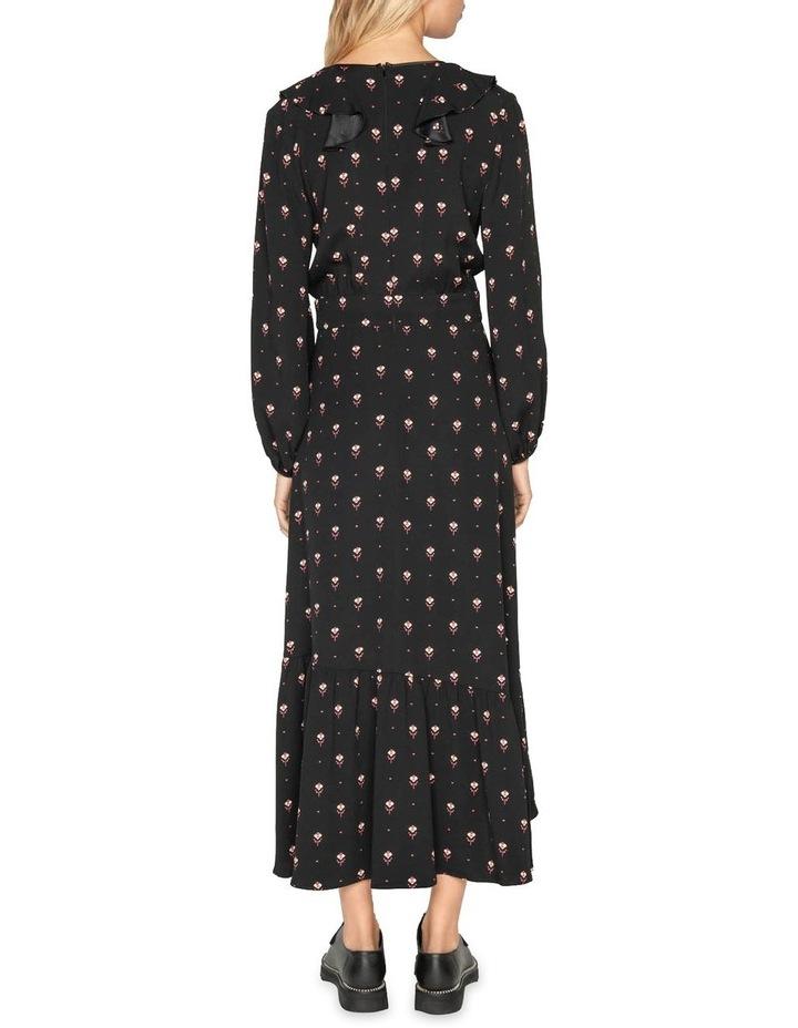 Geometric Motif Midi Dress image 3