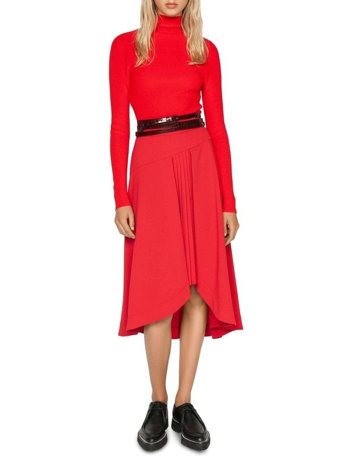 Ruby Pleated Midi Skirt image 1