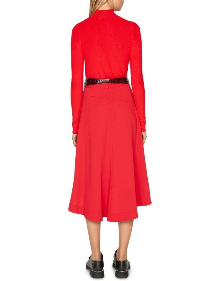 Ruby Pleated Midi Skirt image 3