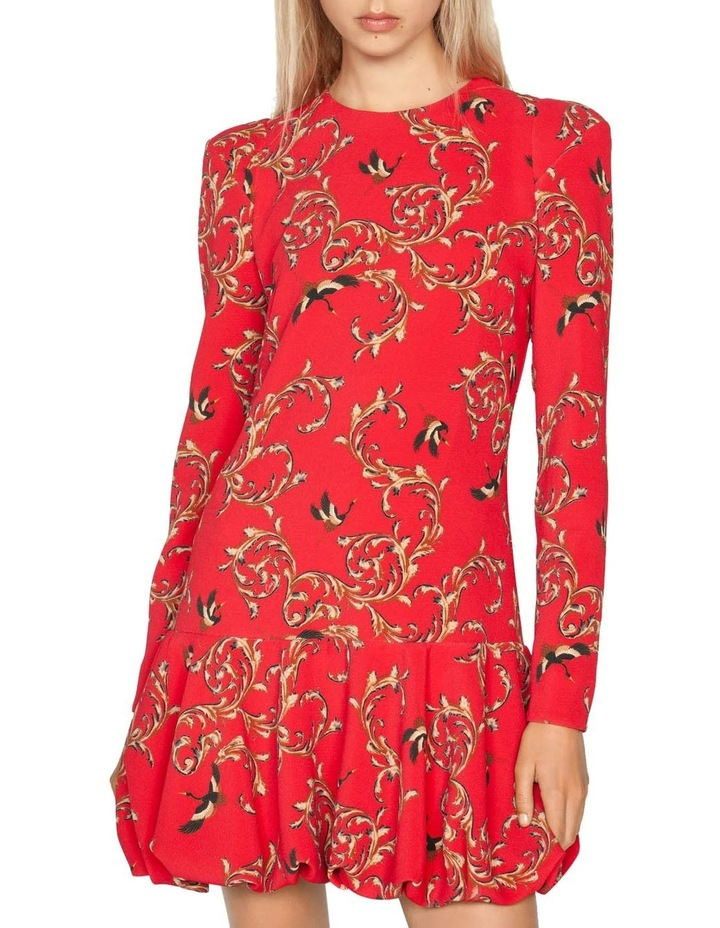 Baroque Bubble Hem Dress image 2