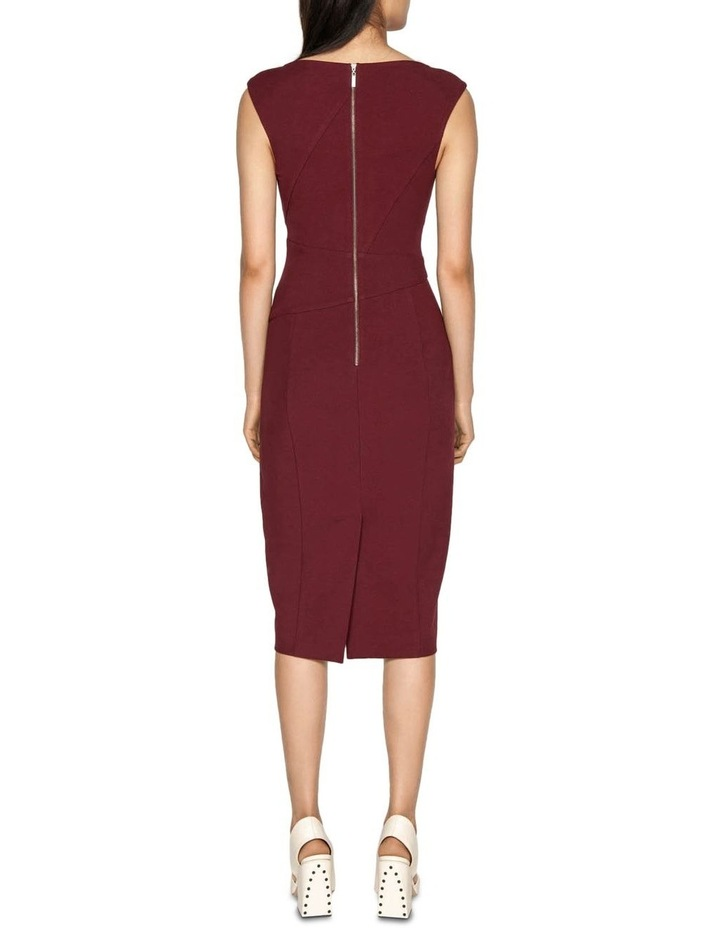 Asymmetrical Pencil Dress image 3