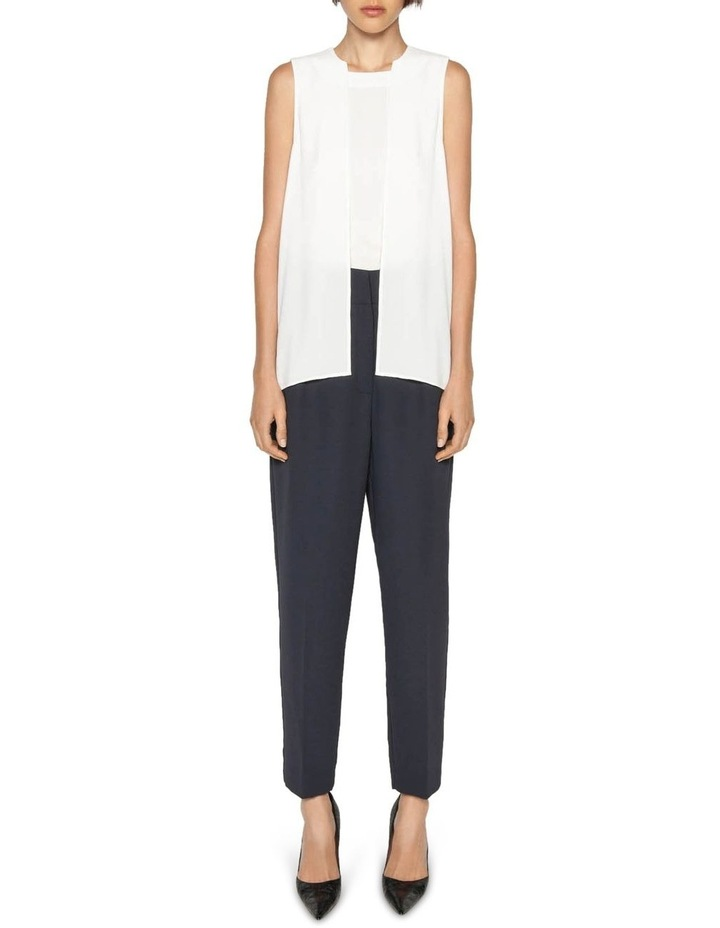 Crepe Tapered Trouser image 1