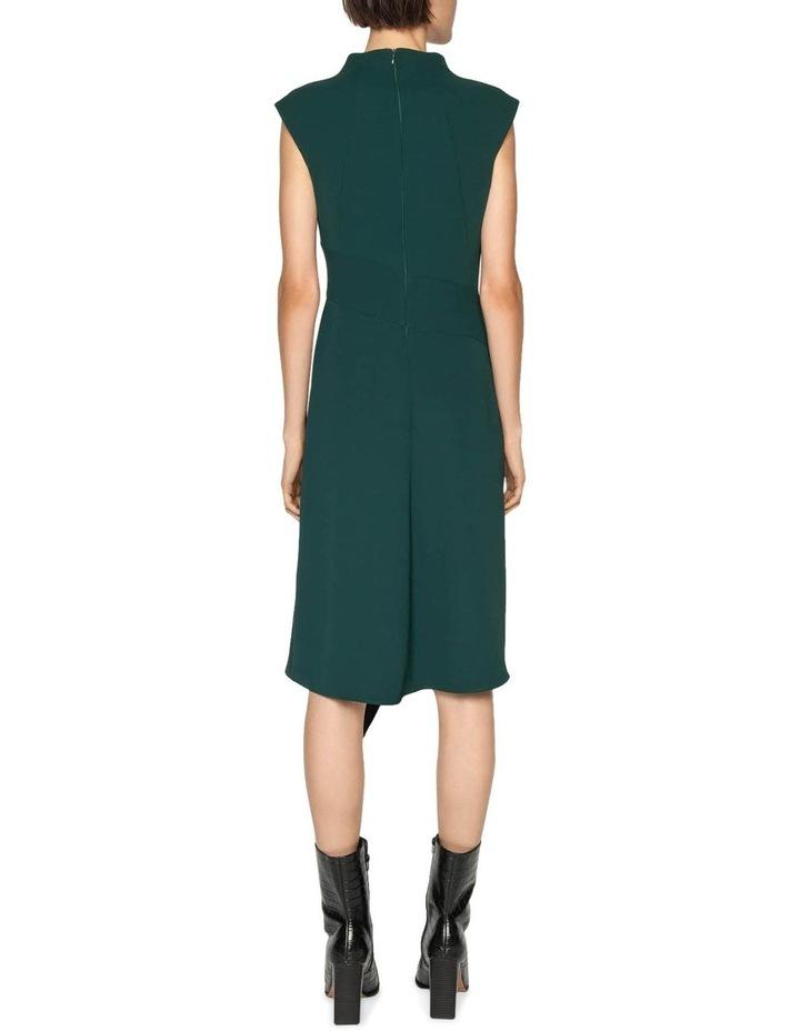 Crepe Funnel Neck Dress image 3