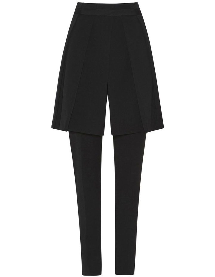 Detachable Pleat Front Skinny Pant image 4