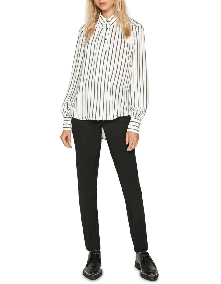 Double Stripe Asymmetric Shirt image 1