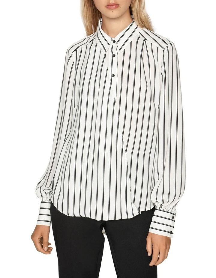 Double Stripe Asymmetric Shirt image 2