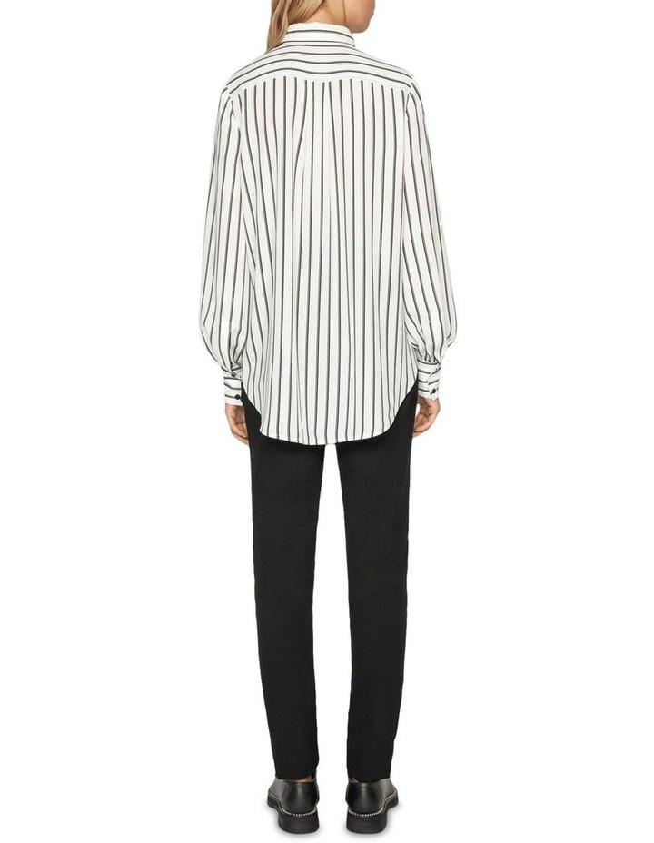 Double Stripe Asymmetric Shirt image 3