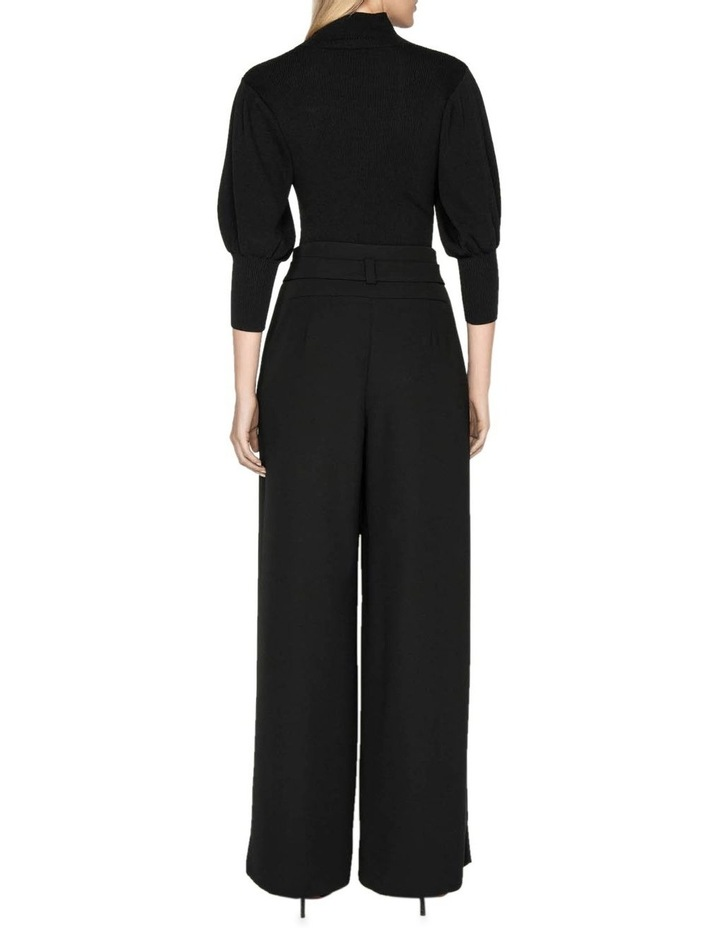 Belted Wide Leg Pant image 3