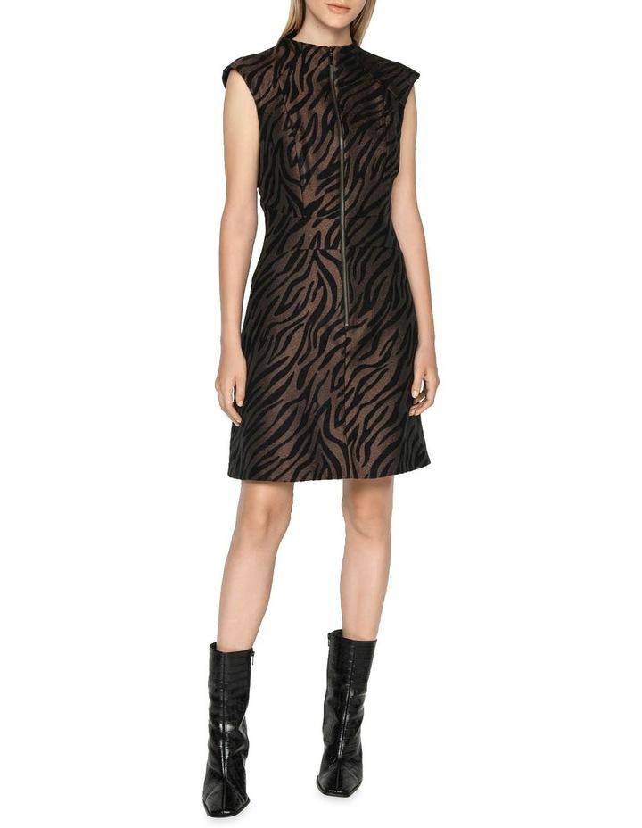 Zebra Mini Dress image 1