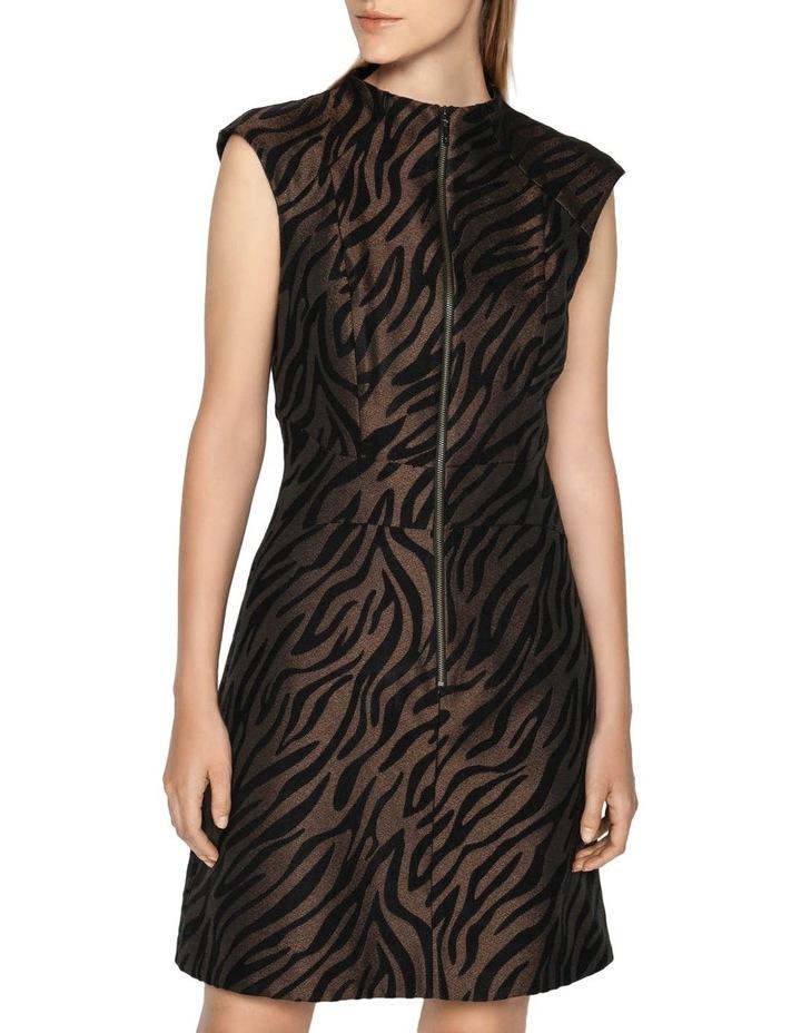 Zebra Mini Dress image 2