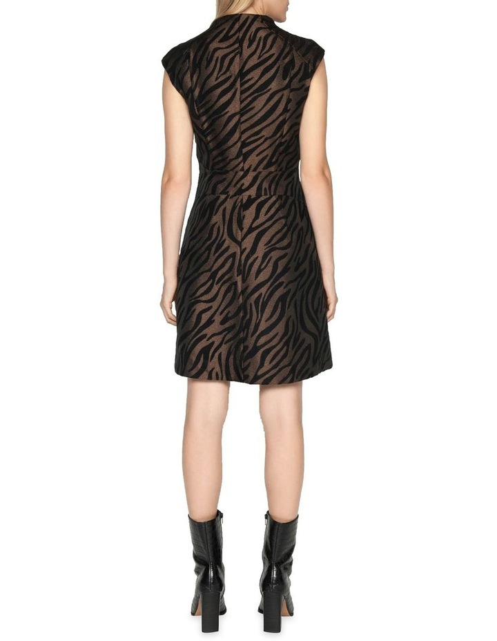 Zebra Mini Dress image 3