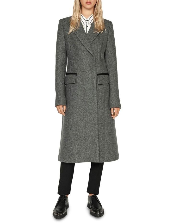 Melange Tweed Coat image 1