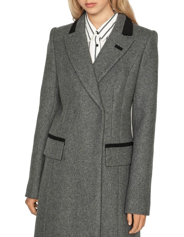 Melange Tweed Coat image 2