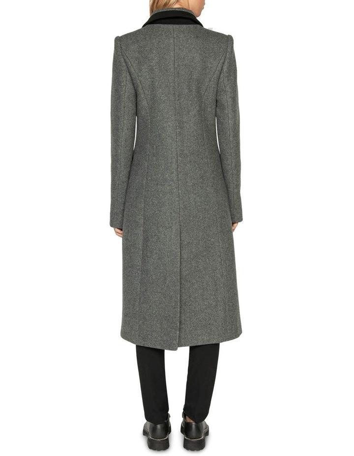 Melange Tweed Coat image 3