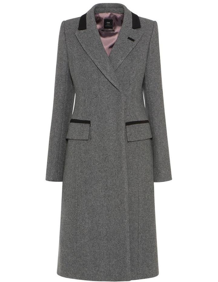 Melange Tweed Coat image 4