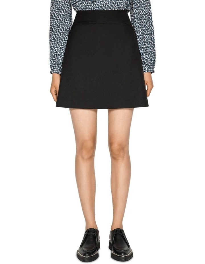 Textured Twill Mini Skirt image 2