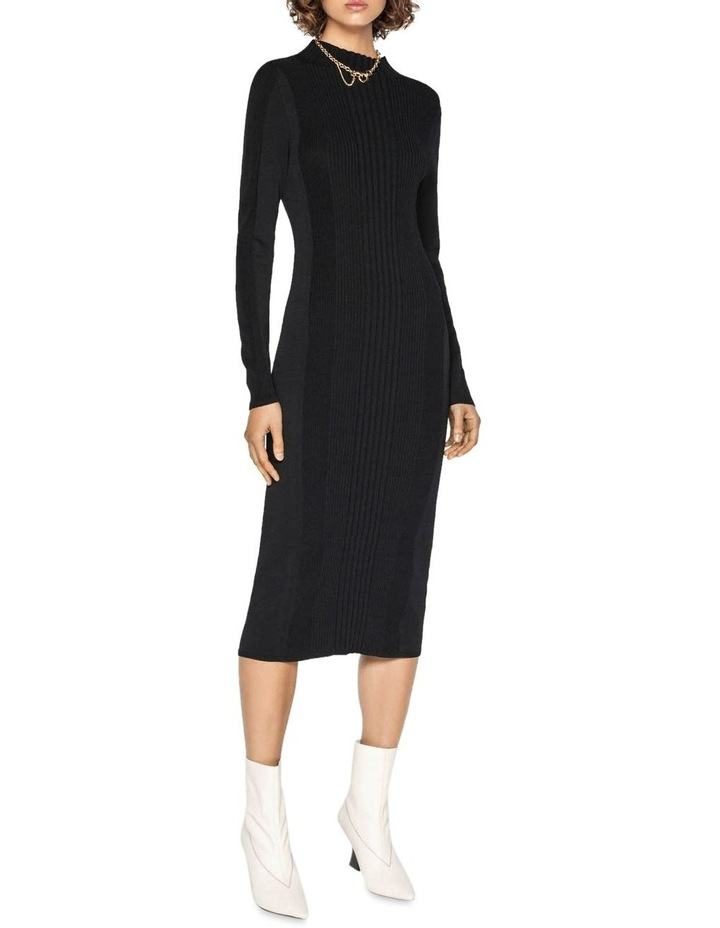 Rib Knit Dress image 1