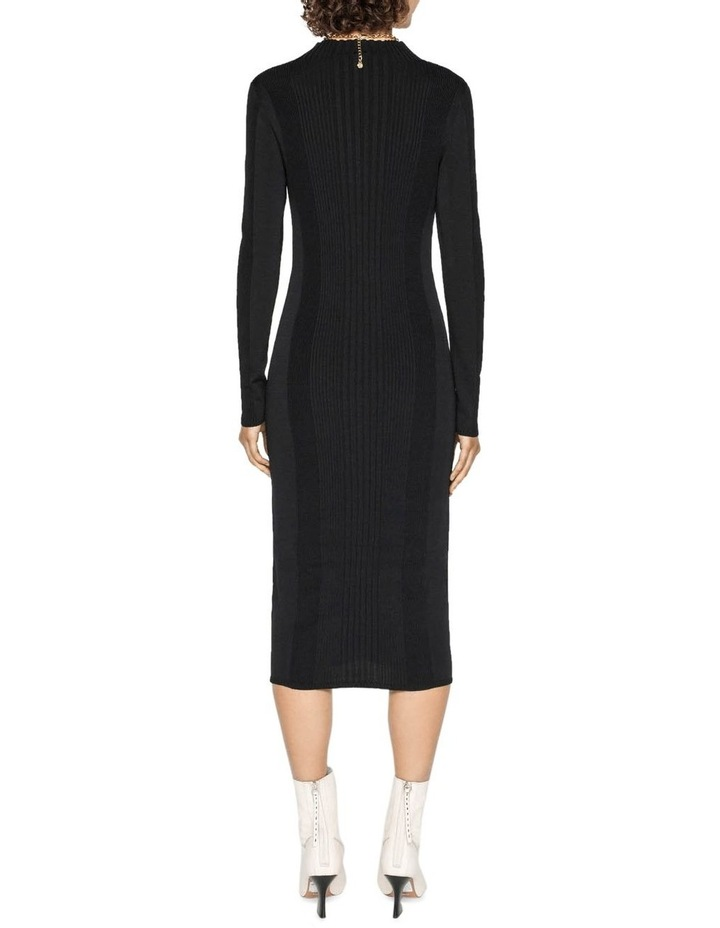 Rib Knit Dress image 3