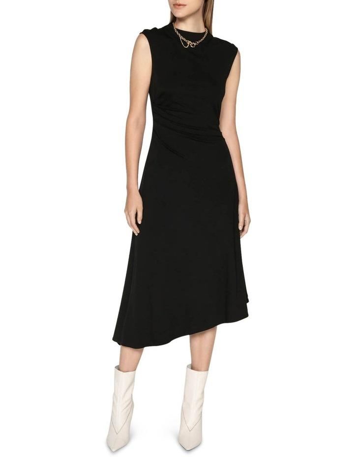 Jersey Draped Waist Dress image 1