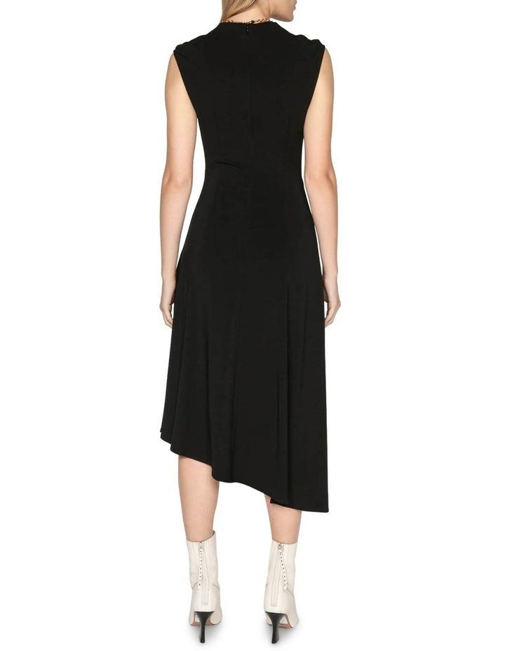 Jersey Draped Waist Dress image 3