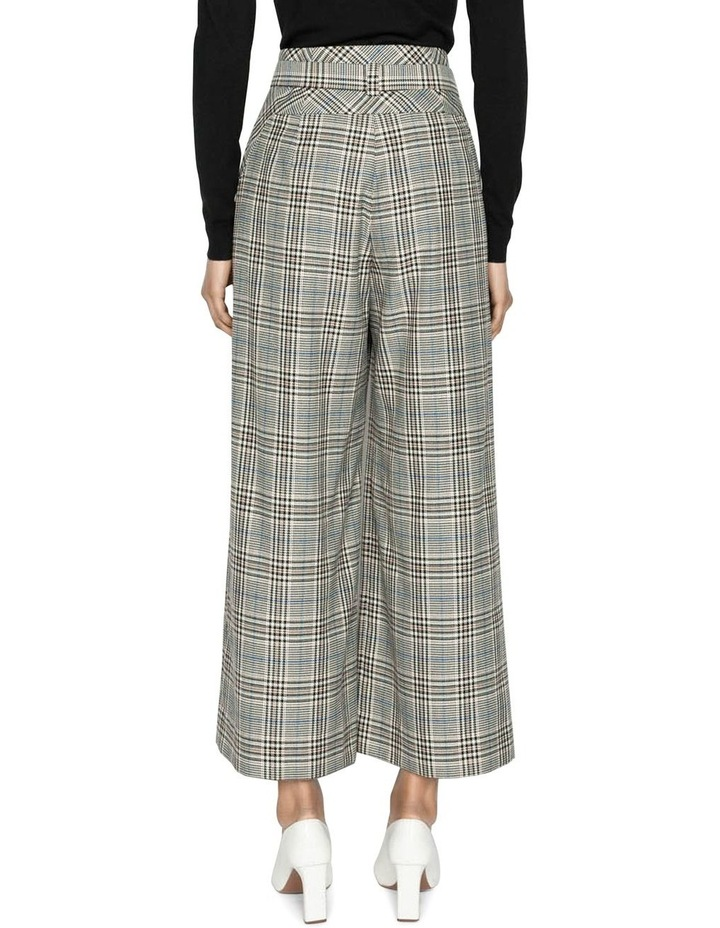 Belted Cropped Wide Leg Pant image 3