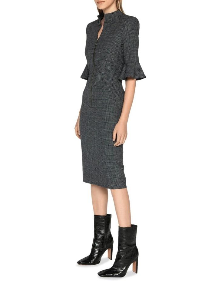 Melange Check Pencil Dress image 1